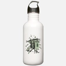 100 Dollar Blot Water Bottle