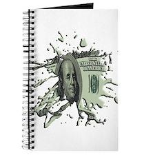 100 Dollar Blot Journal