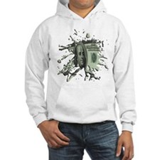 100 Dollar Blot Hoodie Sweatshirt