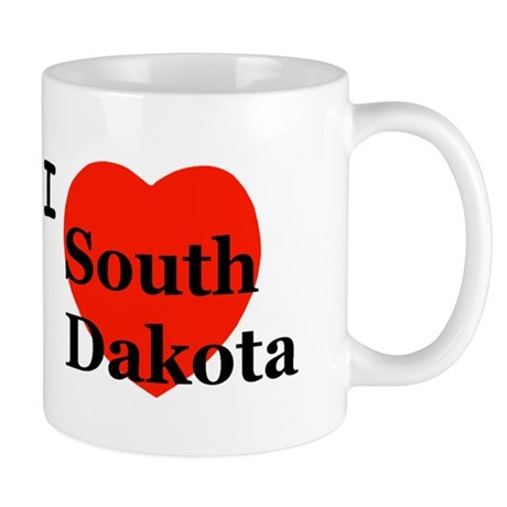 I Love South Dakota Mug