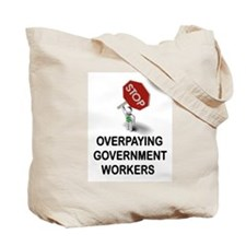 UNIONS MUST GO Tote Bag