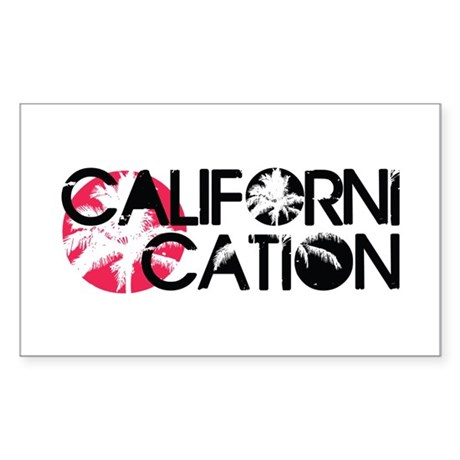 Californication Sticker (Rectangle)