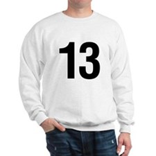 Number 13 Helvetica Sweatshirt