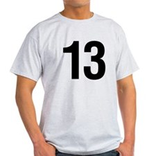Number 13 Helvetica T-Shirt