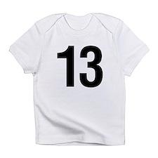 Number 13 Helvetica Infant T-Shirt