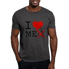 i_love_man_black T-Shirt