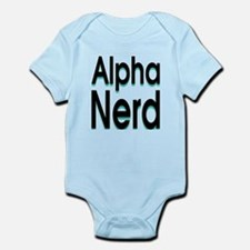 alpha geek Infant Bodysuit