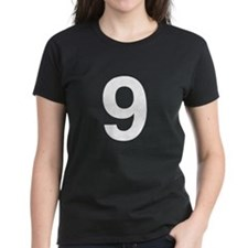 Number 9 Helvetica Tee