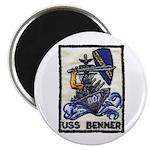 USS BENNER Magnet