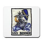 USS BENNER Mousepad
