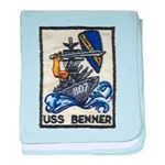 USS BENNER baby blanket