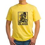 USS BENNER Yellow T-Shirt