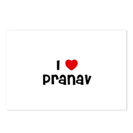 I * Pranav Postcards (Package of 8)