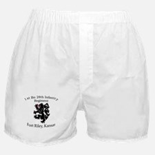 1st Bn 28th Infantry Boxer Shorts
