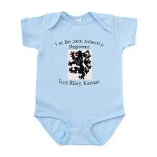 1st Bn 28th Infantry Infant Bodysuit