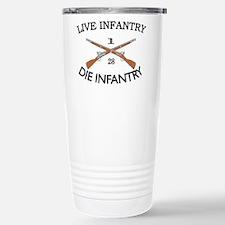 1st Bn 28th Infantry Travel Mug