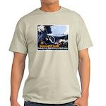 Push-Button-Killing! Ash Grey T-Shirt
