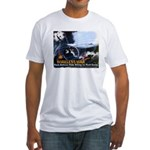 Push-Button-Killing! Fitted T-Shirt
