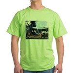 Push-Button-Killing! Green T-Shirt