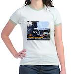 Push-Button-Killing! Jr. Ringer T-Shirt
