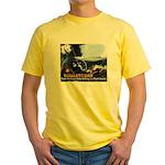 Push-Button-Killing! Yellow T-Shirt