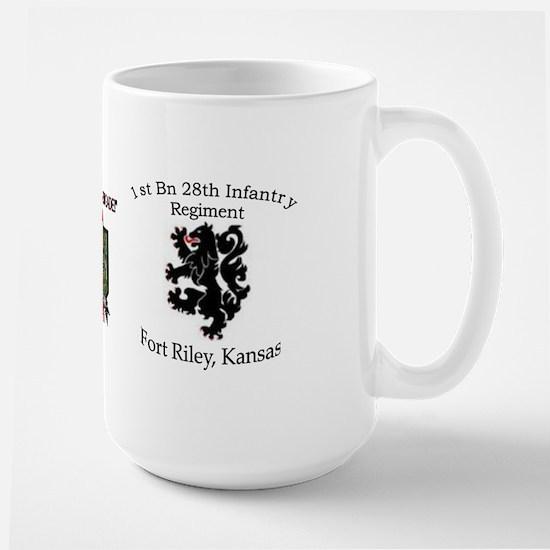 1st Bn 28th Infantry Large Mug
