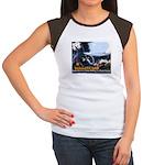 Push-Button-Killing! Women's Cap Sleeve T-Shirt