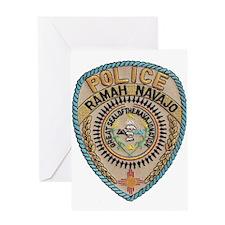 Ramah Navajo Tribal Police Greeting Card