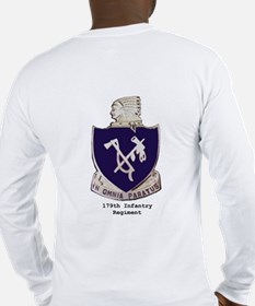 Long Sleeve T-Shirt w/ 179th Crest