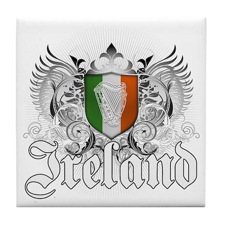 Irish pride Tile Coaster