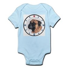 Bullmastiff & Paws Infant Creeper