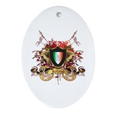 Irish pride Oval Ornament