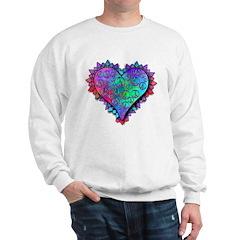 Valentine Peace and Love Sweatshirt