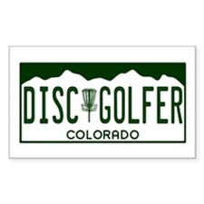 CO Disc Golfer Decal