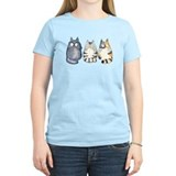 Funny cats Women's Light T-Shirt