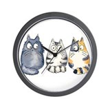 Cats Wall Clocks