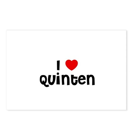 I * Quinten Postcards (Package of 8)