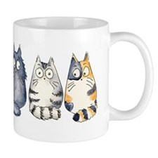Three 3 Cats Mug