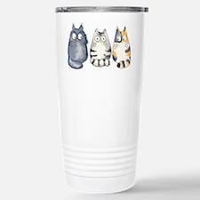Three 3 Cats Travel Mug