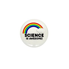 Science Is Awesome Mini Button (10 pack)