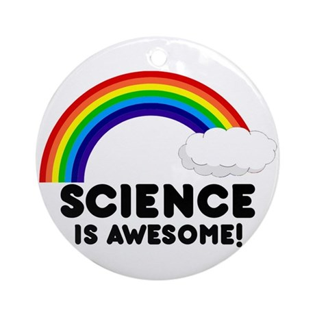 Science Is Awesome Ornament (Round)