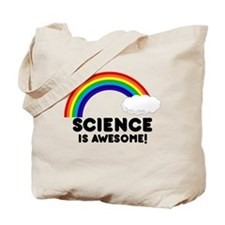 Science Is Awesome Tote Bag