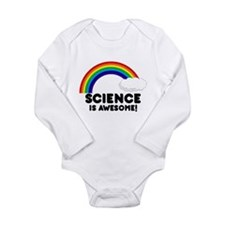 Science Is Awesome Long Sleeve Infant Bodysuit