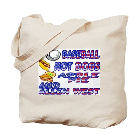 Allen West Tote Bag