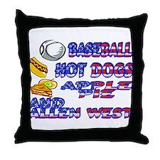 Allen West Throw Pillow