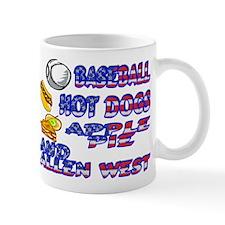 Allen West Small Mug
