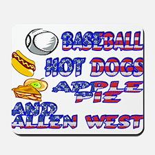 Allen West Mousepad