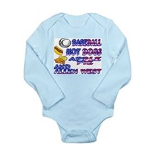Allen West Long Sleeve Infant Bodysuit