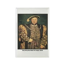 Holbein Henry VIII Rectangle Magnet