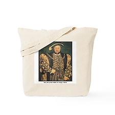 Holbein Henry VIII Tote Bag